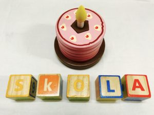 geometry cake by skola toys