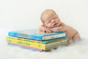 Introducing books to babies